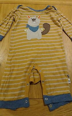 baby clothes footless babygrow sleepsuit 6-9 months