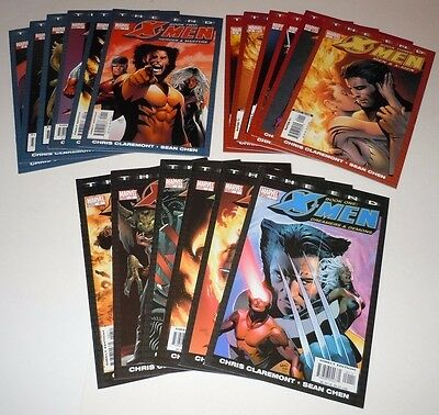 X-Men The End Book One Two Three 1 2 3 4 5 6 Comic SET Marvel Complete I II III