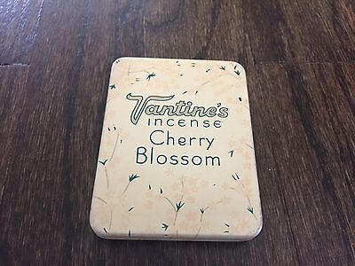 Vintage 1920s Vantine's Cherry Blossom Incense Advertising Tin & Burner
