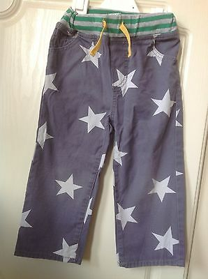 Baby boden star trousers boys 2-3