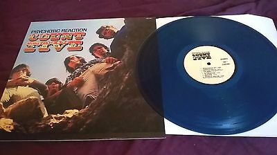 Count Five ‎– Psychotic Reaction BLUE VINYL REISSUE LP garage / psych