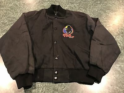 Vintage Dick Tracy Black Disney Movie Promo Jacket TODDLER Size Medium **RARE**