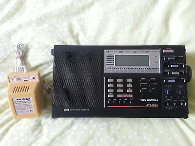 Sangean ATS 803A World Band Receiver