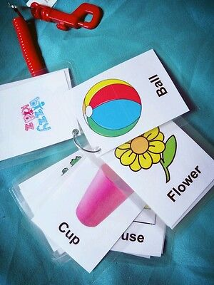 children's First Word Flash Cards Learning baby toddler