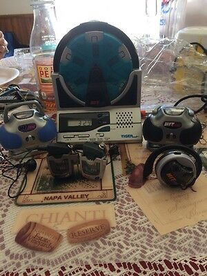 Hit Clips Assorted Boom Box Walkman Ear Piece Alarm Clock