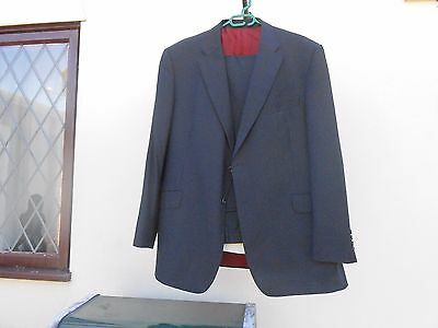 Marks & Spencer Luxury  suit mens jacket 46 inch medium trousers 40w 33 L   VGC