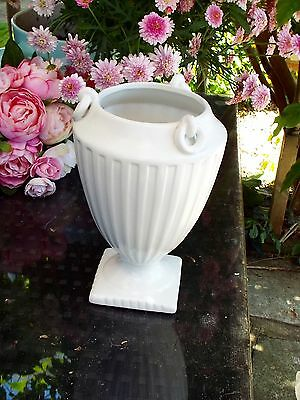 Vintage Collectible Large Dartmouth Pottery Vase Cream Pattern 254