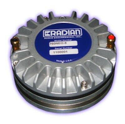 "Radian 760 NEO 16ohm  Pro 2"" Throat  3"" Diaphragm Compression Driver"