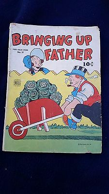 Bringing up Father #37 Dell Comic Book 10 Cent George McManus