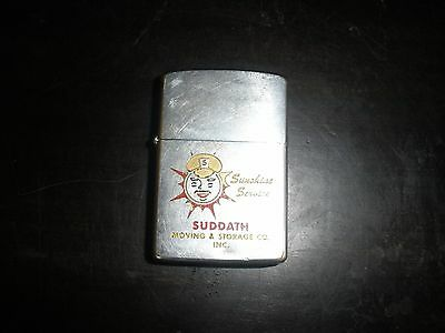 Zippo Sunshine Services Suddath Moving and Storage Lighter