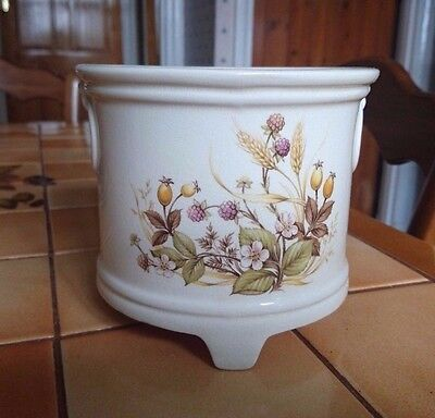 M&S Marks and Spencer Harvest Ornate Pot - Made in UK (with Label)