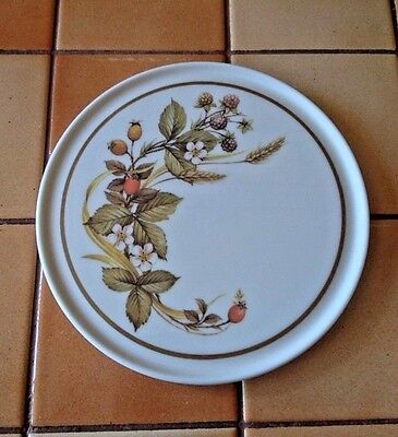 """M&S Marks and Spencer """"Harvest"""" Melamine Teapot Stand -  Ex Condition with Label"""