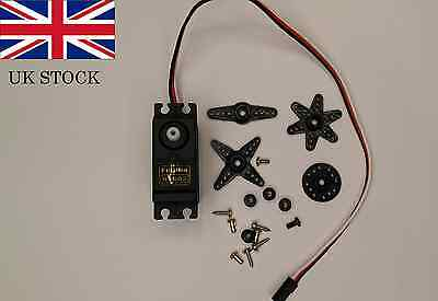 Futaba S3003 BIG TORQUE servo motor gear for RC Helicopter Robotics with levers