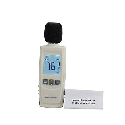 Test Technologies LCD Digital Sound Noise Level Describe Meter 30-130dBA MX