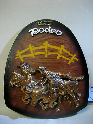 Rodeo Greetings from Mount Isa hand crafted wall hanging