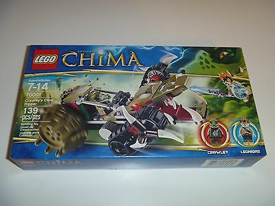 LEGO Legends of Chima 70001 Crawley's Claw Ripper New in Sealed Box 139 Pieces