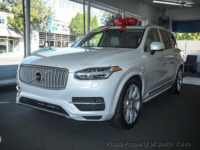 2017 Volvo XC90 T8 Twin Engine Plug-In Hybrid 7-Passenger Excellen 2017 Volvo XC90 Excellence Edition $105,000 MSRP
