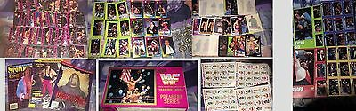 Wwf Wwe Stamps Cards Job Lot Magazine Uncut Promo Bret Undertaker