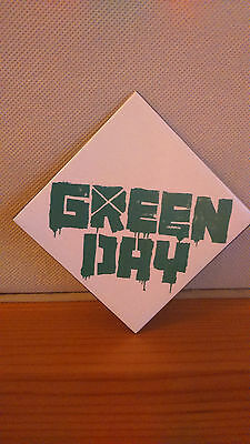 "GREENDAY  fridge magnet 3"" square."