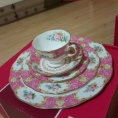 royal albert lady carlyle 20p set