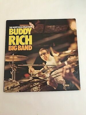 The Buddy Rich Collection Buddy Rich Big-Band Vinyl Lp 2 Records