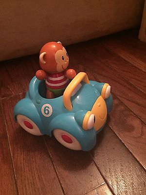 Early Learning Centre Car And Monkey