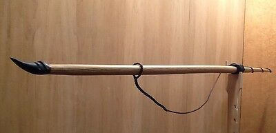 "Hickory Backed White Oak English Longbow 50#@28"" 65#@32"" 76"" Overall"