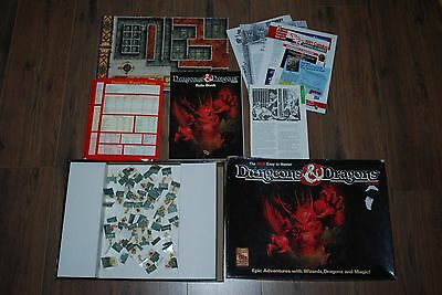 1991 Vintage Tsr Dungeons And Dragons Board Game 1070