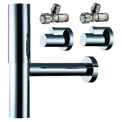 HANSGROHE FLOWSTAR SET Consists of 1 1/4 inch siphon and 2 1/2 inch ...