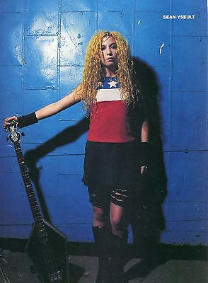 Sean Yseult Pinup Clipping 90's White Zombie