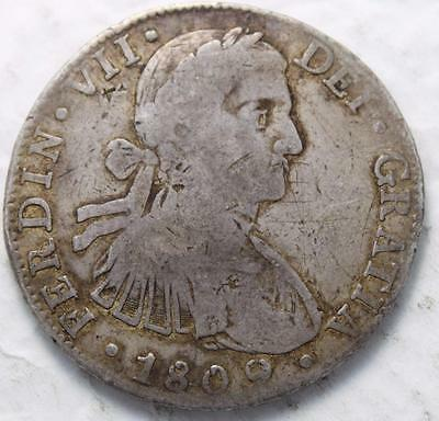 Mexico 1809 TH Silver 8 Reales