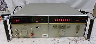 HP 8671B Synthesized CW Signal Generator 2.0 - 18 GHz Agilent TESTED