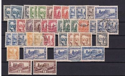Tunisia 1931 Mounted Mint  & Used Stamps  Ref R1146