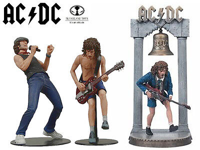 McFarlane AC/DC Ultra Rare High Detail 3 Piece Figure Set