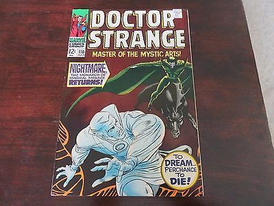 Doctor Strange #170 (Jul 1968, Marvel) VF 7.5