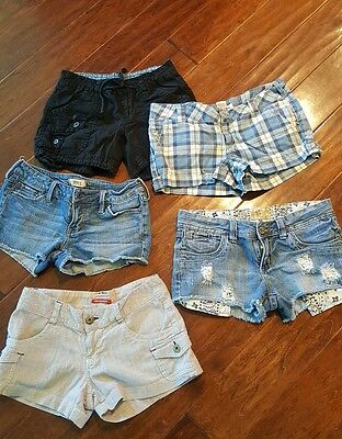 Juniors Shorts Lot of 5 Size 3