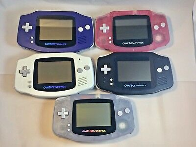 *RESTORED* Nintendo Game boy Advance Handheld Console System GBA - Choose Color