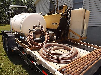 Vermeer 7x11A Directional Drill 1995 Boring Unit Rig and Trailer package