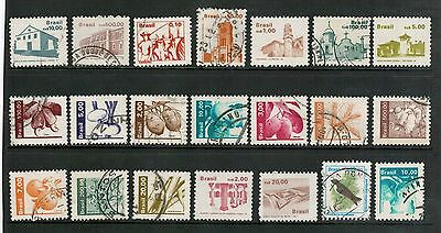 Lot 4166 - Brazil - mixed selection of 46 stamps from various years