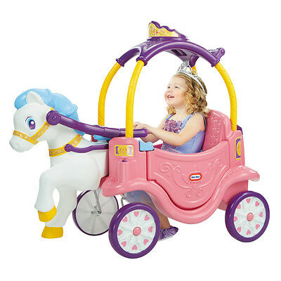 Little Tikes Princess Horse & Carriage - NEW