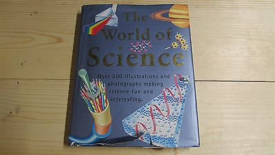 THE WORLD OF SCIENCE Parragon HC BOOK Home School w DJ