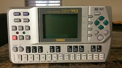 Yamaha QY70 Workstation Music Sequencer