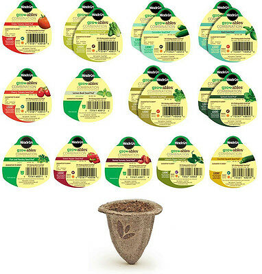 Miracle-Gro Gro-Ables Salad and Herb Garden Kit (18 Seed Pods)