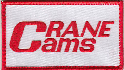 Crane Cams Embroidered Patch