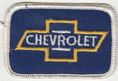 Chevrolet Embroidered Patch