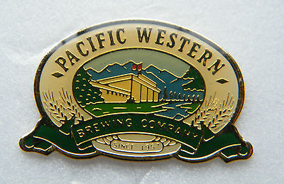 Pacific Western Brewing Company  -  Brooch / Lapel Pin.