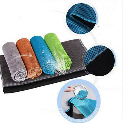 Jogging Gym Running Summer Sweat Ice Cold Enduring Chilly Pad Cooling Towel