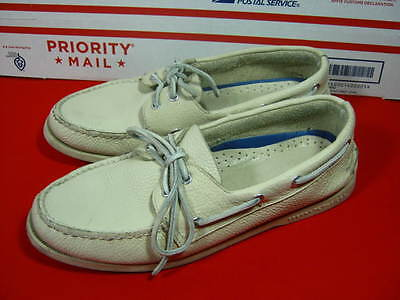 Sperry Top Sider Men's 11 W Leather Boat Shoes
