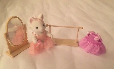 CALICO CRITTERS CC2121 Katie Kitty Ballerina, Limited Edition, RARE!