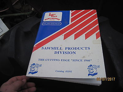 LaFave Saw & Supply Sawmill Products Catalog #1192